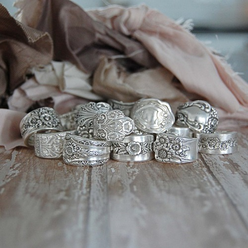 63% off Silver Spoon Rings : Only $14.99