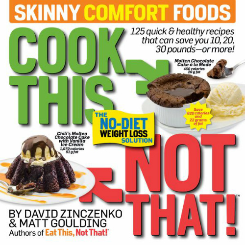 92% off Cook This, Not That! Skinny Comfort Foods : Only $1.62