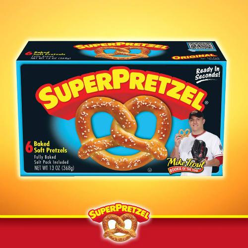 Super Pretzel Coupon : 50¢ off any Box