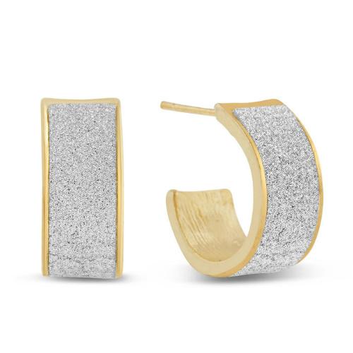 87% off Swarovski Dust Huggie Hoop Earrings : $6.49 + Free S/H