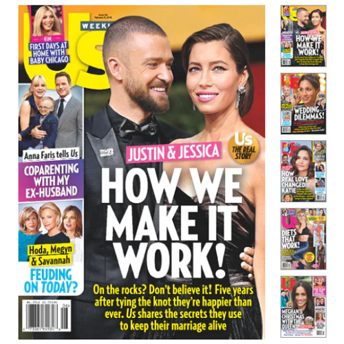 70% off US Weekly Subscription : Only $19.95