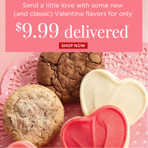 Valentine Cookie Sampler : $9.99 + Free S/H