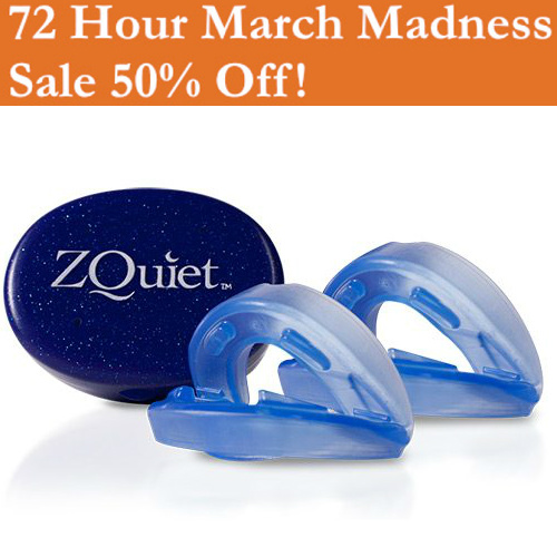 50% off ZQuiet Stop Snoring Mouthpiece : Only $39.95