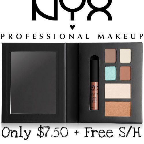 50% off NYX Professional Makeup Palettes : $7.50 + Free S/H