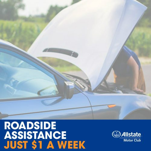 All State Motor Club Roadside Assistance : Only $1/Week