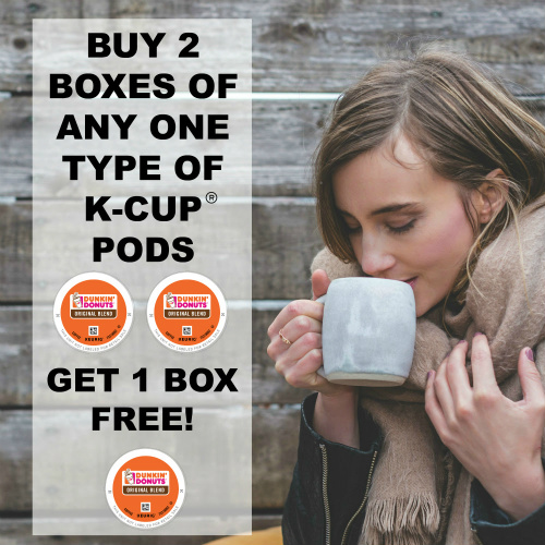 Boxes of Coffee K-Cups : Buy 2, Get 1 Free