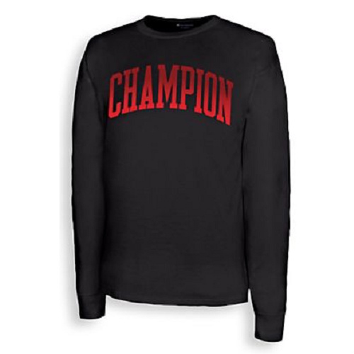 77% off Men's Champion Long Sleeve Tee : $5.07 + Free S/H