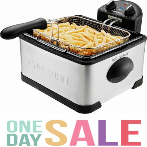 55% off Chefman Deep Fryer : $39.99 + Free S/H