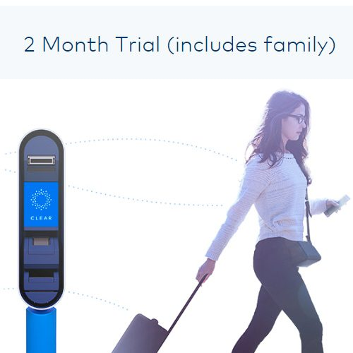 CLEAR : 2 Month Free Trial (includes family!)