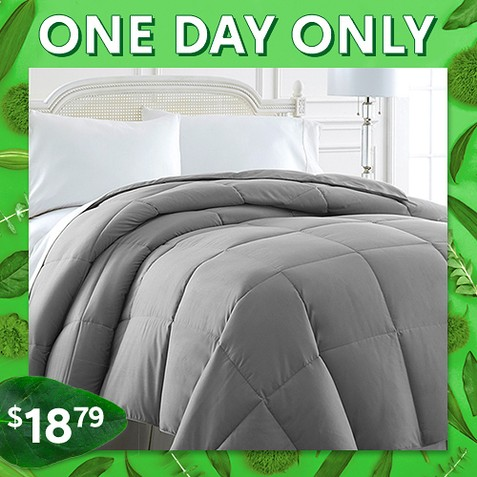 Up to 89% off Down Alternative Comforters : $18.79 any size