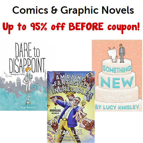 Up to 95% off Comics & Graphic Novels : Prices starting at $1.19 Before Coupon