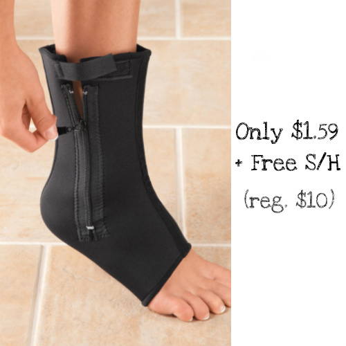 84% off Compression Ankle Support : Only $1.59 + Free S/H