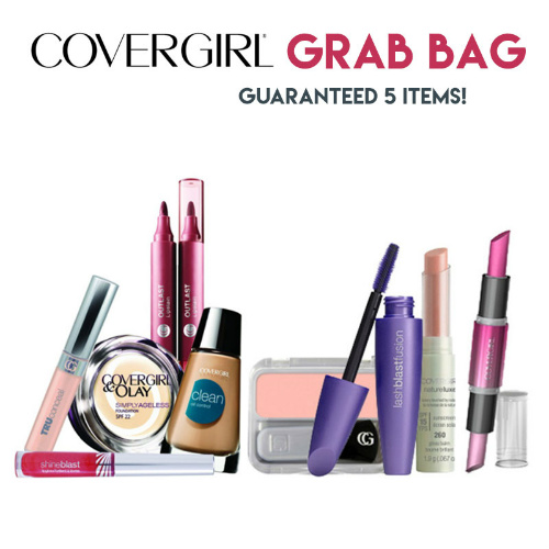72% off 5-PC Covergirl Grab Bag : $12.45 + Free S/H