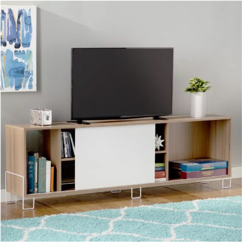 60% off Erica 71″ TV Stand : $84.99 + Free S/H