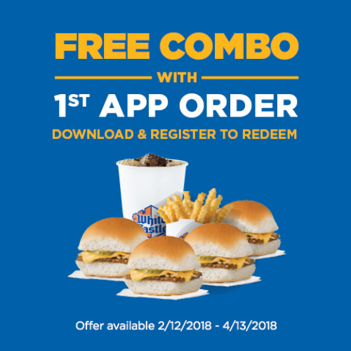 White Castle : Free Combo Meal