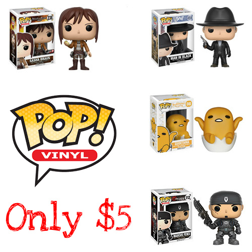 45% off Funko POP! Collectible Figures : Only $5