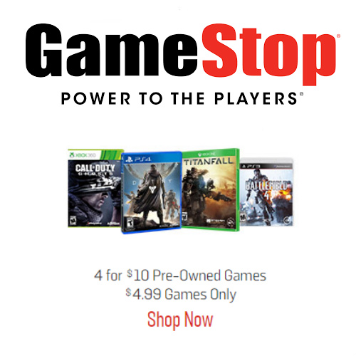 4 Pre-Owned Video Games : Only $10