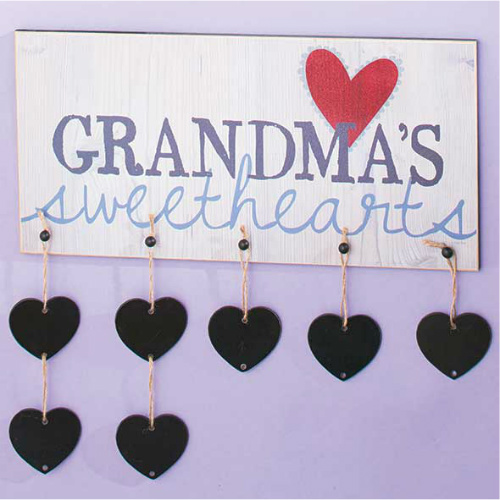 79% off Grandma's Sweethearts Plaque : Only $1.50