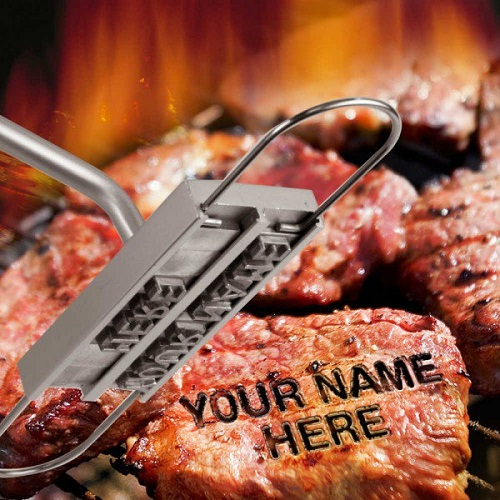 62% off Personalized BBQ Branding Iron : $14.99 + Free S/H