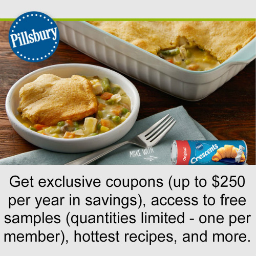Pillsbury : Free Product Samples and Coupons