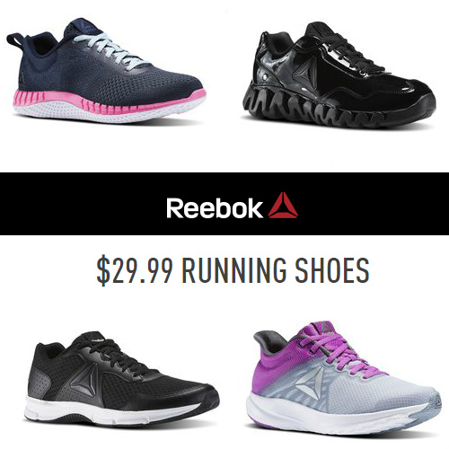 Up to 66% off Reebok Running Shoes : Only $29.99 + Free S/H