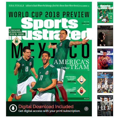 68% off 2-YR Sports Illustrated Subscription : Only $24.95