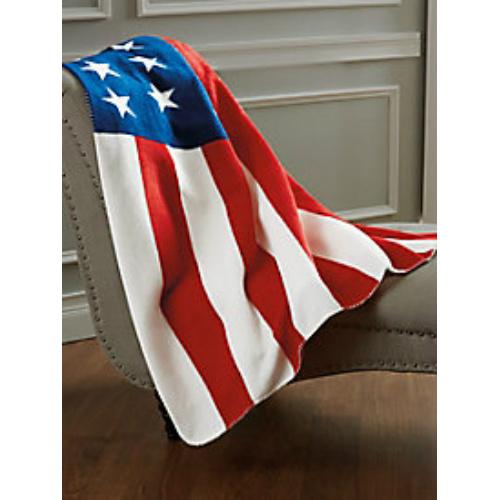 40% off Stars & Stripes Fleece Throw : $8.97 + Free S/H