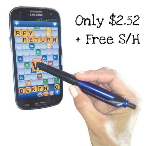 75% off Erasable Ink Pen & Stylus : $2.52 + Free S/H