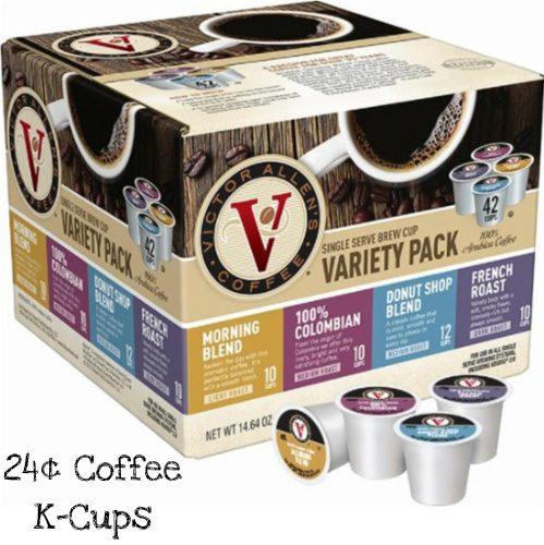 30-50% off Victor Allen Coffee K-Cups : $6.99-$14.99