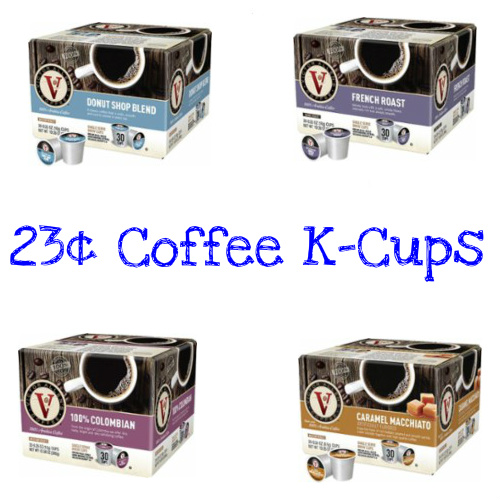 Victor Allen Coffee K-Cups : As low as 23¢ each