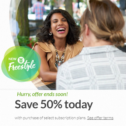 Weight Watchers : 50% off Select Plans
