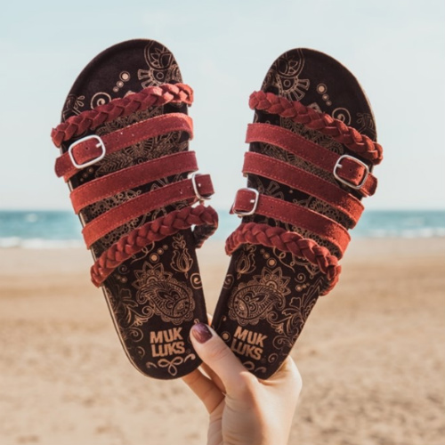 43% off Women's MUK LUKS Sandals : Only $24.99 + Free S/H