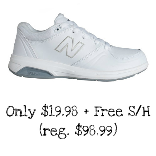 80% off Women's New Balance Sneakers : $19.98 + Free S/H
