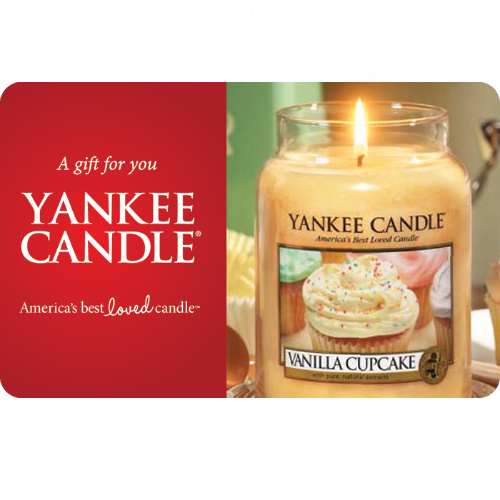 20% off $50 Yankee Candle Gift Card : Only $40