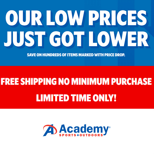 Academy Sports + Outdoor : Clearance starting at 48¢ + Extra 10% off + Free S/H