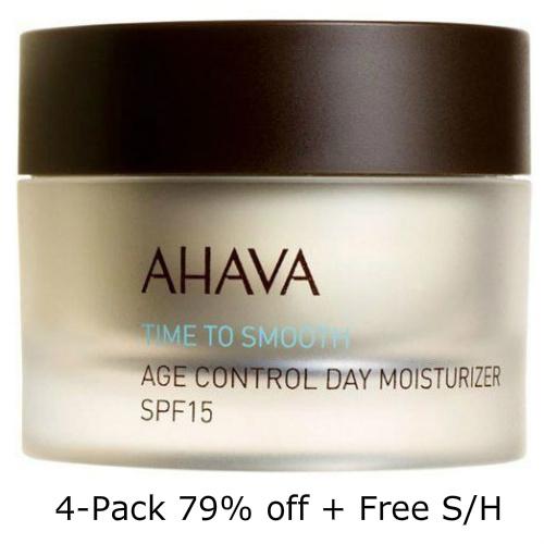 79% off 4-PK of AHAVA Age Control Moisturizer w/SPF : $37.99 + Free S/H