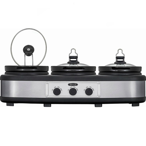 42% off Bella Triple Slow Cooker : Only $34.99