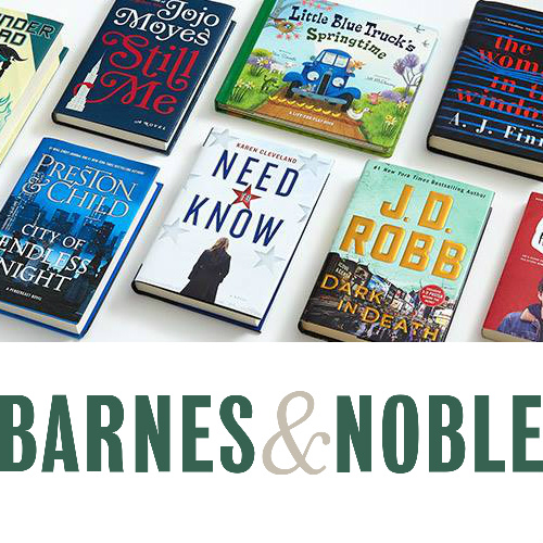 Barnes & Noble : 15% off any item