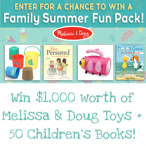 Brightly Sweepstakes : Win $1,000 worth of Melissa & Doug Toys + 50 Children's Books