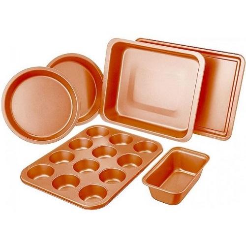 54% off Non-Stick Copper Bakeware Set : $22.99 + Free S/H