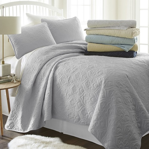 76% off 3-PC Quilted Coverlet Set : Only $35.99 Any Size + Free S/H