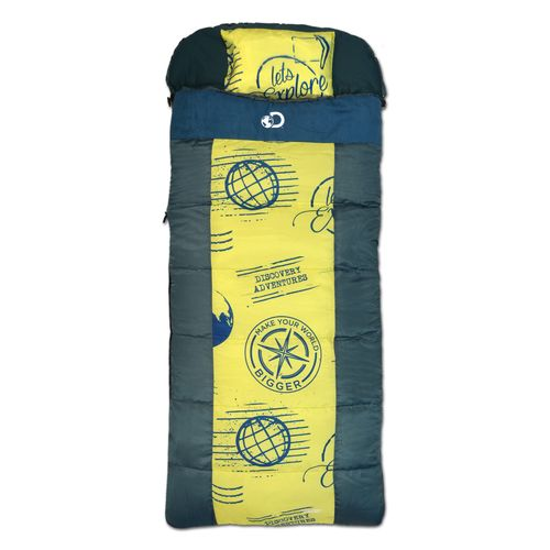66% off Discovery Adventures Kids' Sleeping Bag : $6.73 + Free S/H