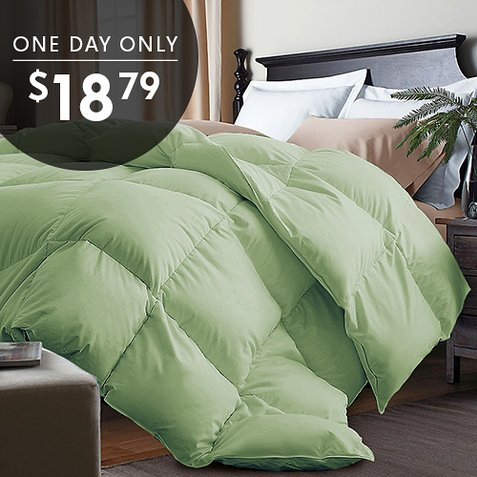 Up to 90% off Down Alternative Comforters : Only $18.79