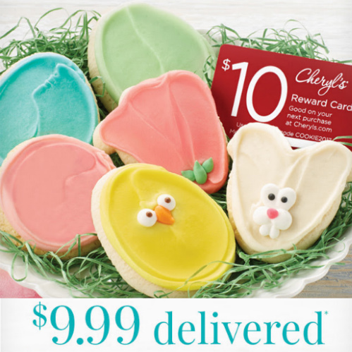 Easter Cookie Sampler : Only $9.99 + Free S/H