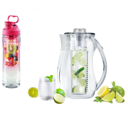 40% off Fruit-Infuser Pitcher and Water Bottle Set : $23.99 + Free S/H