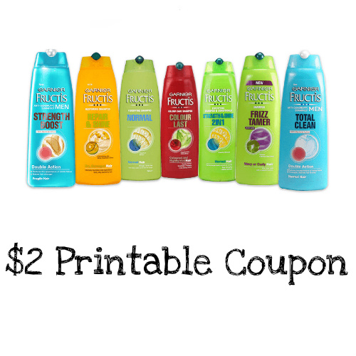 graphic regarding Garnier Printable Coupon referred to as Garnier Printable Coupon : $2 off Shampoo, Conditioner or