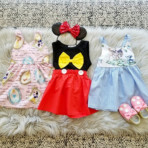 50% off Girls' Theme Park Dresses : Only $14.99 + Free S/H
