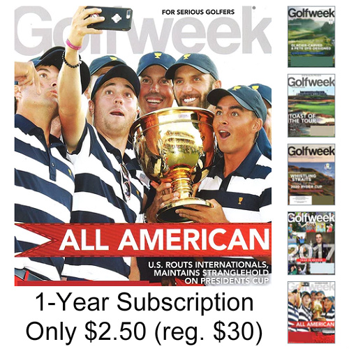 91% off Golfweek Magazine Subscription : Only $2.50/Year