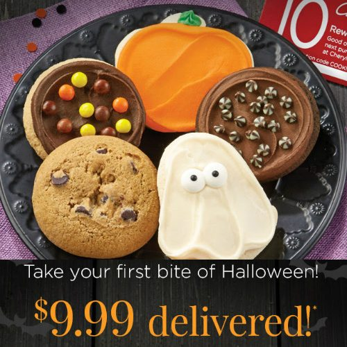 Halloween Cookie Sampler : Only $9.99 + Free S/H