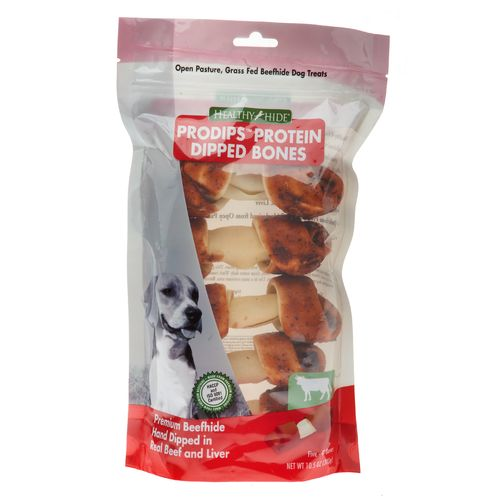 47% off Healthy Hide Pro-Dips Beef and Liver Basted Knots : $2.68 + Free S/H